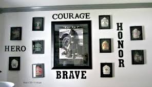 beautiful decoration firefighter wall decor vibrant ideas