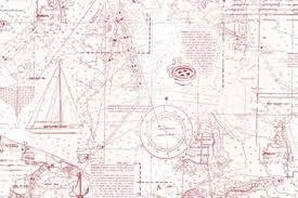Wallpaper Nautical Theme - york wallcoverings nautical living coastal map 27 u0027 x 27