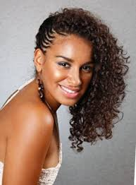 braided ponytail hairstyles for black women popular long