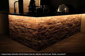 outdoor kitchen lighting ideas creative of bar lighting and l shaped kitchen sinks shaped