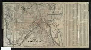 Map Of St Paul Mn John R