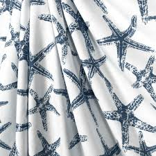 Navy And Green Curtains Shower Curtain Navy Blue Starfish Navy Blue White Starfish