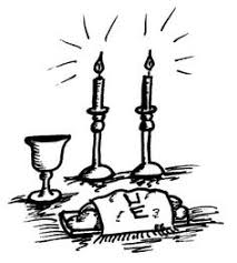 shabbas candles shabbat clipart free clip free clip on