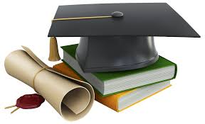 graduation diploma cap books and diploma png clipart