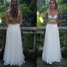 com buy cut out white prom dresses long sparkly crystals pageant