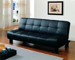 Leather Click Clack Sofa Click Clack Black Futon Fruitvale Collection Style 4791pu