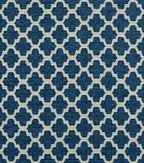 Indigo Home Decor Covington Upholstery Fabric Trellis Walk Indigo 593 Upholstery