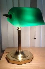 green glass desk lamp foter
