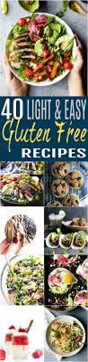 light and easy dinner 40 of the best light easy gluten free recipes easy healthy