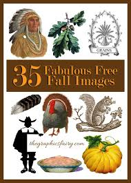 free vintage thanksgiving clip fall images graphics