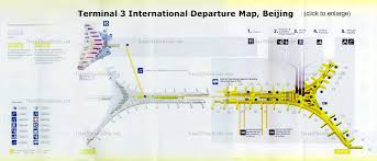 L Train Map Terminal 3 Of Beijing Capital Airport Airlines Guides
