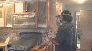 refinishing oak kitchen cabinets timeless arts refinishing youtube