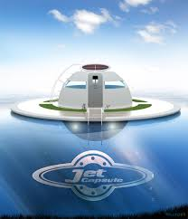 u f o the solar charged floating house for off grid living on
