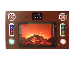 technical pro technical pro electric fireplace bluetooth