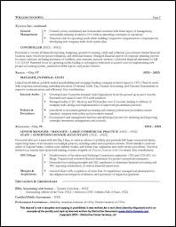 cfo resume exles resume sle for a cfo