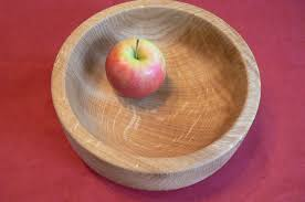 Fruit Bowls by Oak Fruit Bowl Hand Crafted Wood From Yorkshire