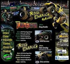 big dawg 4x4 big dawg u0026 tail gator monster trucks