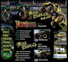 big dawg 4x4 big dawg u0026 tail gator monster trucks