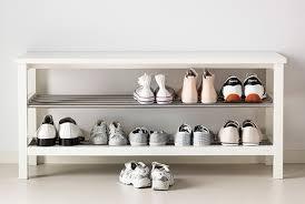 shoe storage ikea ottoman design idea and decor