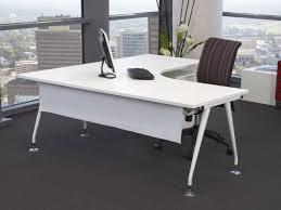 White Office Desk Ikea L Desk White For Your Home Office Marlowe Desk Ideas