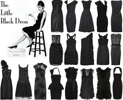 the black dress the black dress