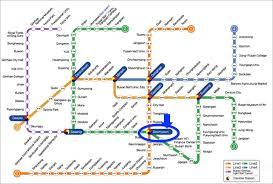 Korean Subway Map by Chloe Wl Guide To Busan Seomyeon Shopping And Food Street
