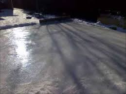 how to build a backyard ice rink cheap and easy youtube