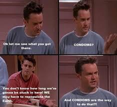 Friends Tv Show Memes - funny quotes about condoms friends tv show dump a day