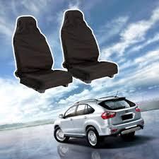 housse siege auto monospace 2x housse protection noir siège avant auto voiture monospace étanche
