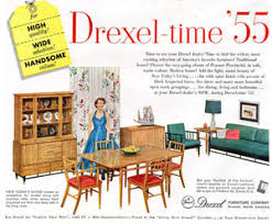 Drexel Dining Room Table 1955 Drexel Dining Room Set 100 Polyverse