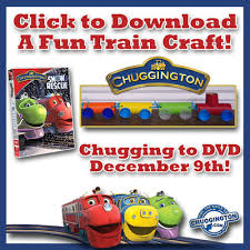 free printable chuggington train craft atoz learning tree