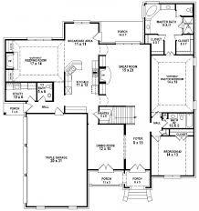 5 bedroom 4 bathroom house plans house plans 4 bedroom 3 bath home plans