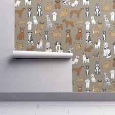 dogs print dog illustration cute dog dog breed pet dog fabric