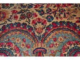 authentic persian floral kerman rug elegantorientalrugs com