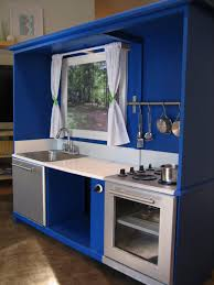 play kitchen from old furniture 25 ideas recycling furniture for diy kids play kitchen designs