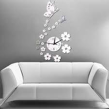 2016 3d home decor diy crystal quartz clock art watch direct