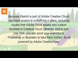 is adobe sketch free youtube
