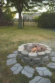 Terra Cotta Fire Pit Home Depot by Articles With Rocks Around Fire Pit Tag Astounding Rocks Around