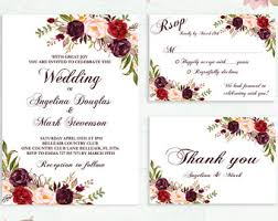 wedding invitations burgundy burgundy wedding invitations reduxsquad