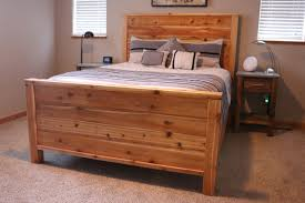 Build Wooden Bed Frame Diy Wooden Bed Frame Diy Bed Frame Plans How To Make A Bed Frame