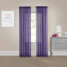 Curtain Pairs Pairs To Go Voile Curtain Panel Pair Free Shipping On