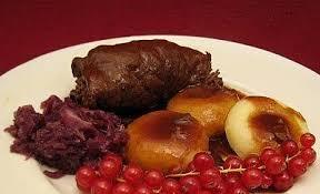 schlesische küche schlesische klöße mit rinderrouladen und rotkohl rezept kochbar de