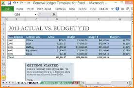 9 excel general ledger template free ledger entries payment