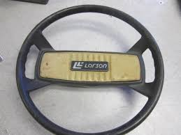 larson boat steering wheel 13 5 inch vintage 3 4 shaft green bay