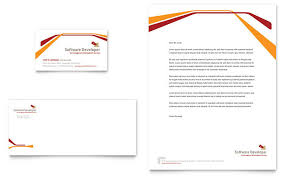 Business Card Template Software Software Developer Business Card U0026 Letterhead Template Design