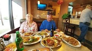 table full of food a table full of food for three people picture of big wa chinese