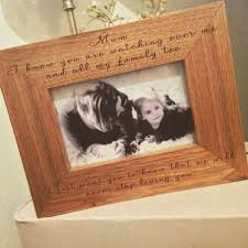 remembrance picture frame handmade personalised remembrance oak frame mothers