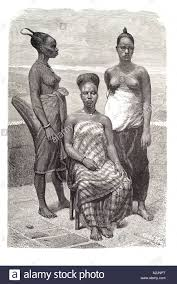 bare breast local women bare breast africa stand pose formal