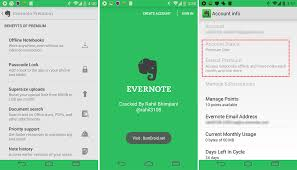 evernote premium apk evernote android app review and free