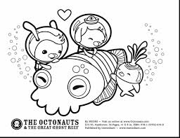 remarkable octonauts octopus coloring page with octonaut coloring